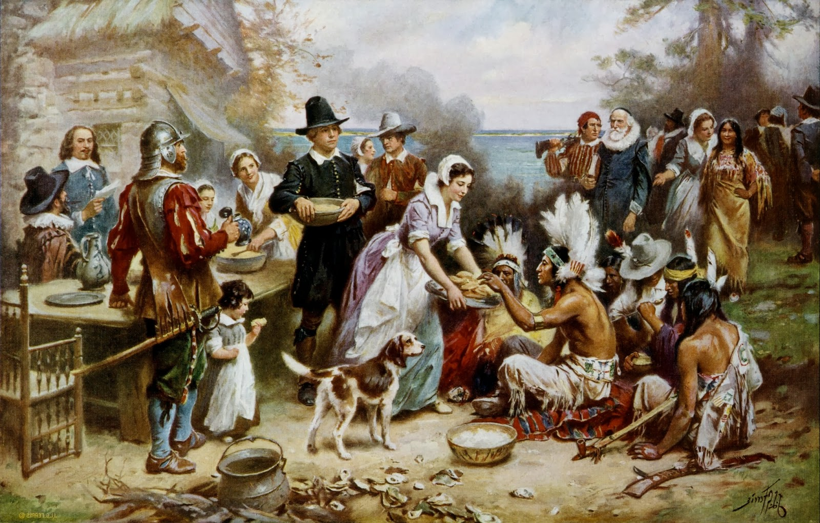virginians and the puritans