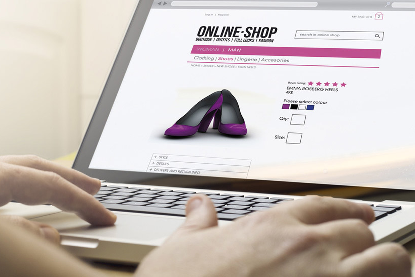 research on online shopping business in